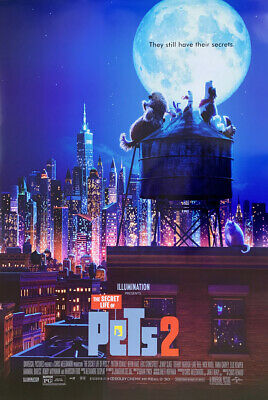THE SECRET LIFE OF PETS 2 MOVIE POSTER 2 Sided ORIGINAL FINAL 27x40 KEVIN HART