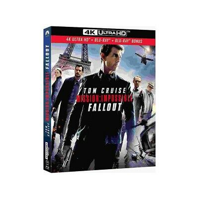 Mission impossible 6 : fallout   Blu-ray 4K