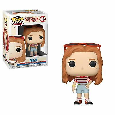 Funko Pop! Television:stranger Things - Max (Mall Outfit) 806 38531 Vinyl Figure