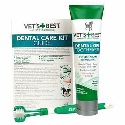 Vet's Best Enzymatic Dog Toothpaste Teeth Cleaning and Fresh Breath Dental Care