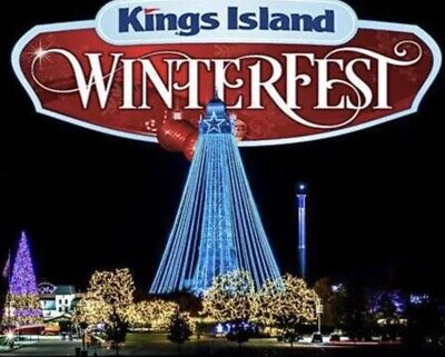 KINGS ISLAND TICKETS $25 SAVE Discount PROMO MEAL + PARKING + WINTERFEST!