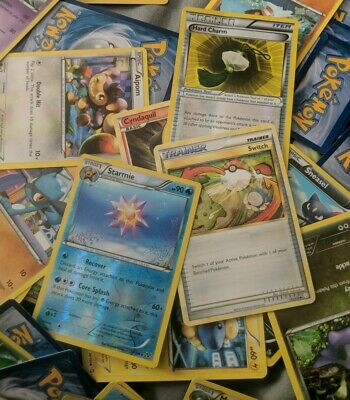 Pokemon 100 OFFICIAL Card Lot! GUARANTEED RARES And Reverse HOLOS! BRAND NEW!