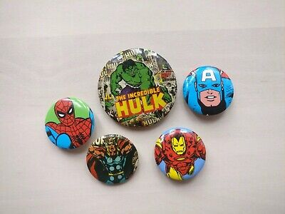 25mm Button Badge Marvel Retro loki