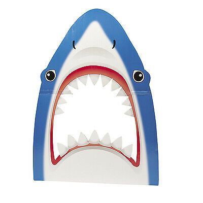 Great White Shark Photo Prop Decoration Birthday Party Event Ocean Deep Sea Life