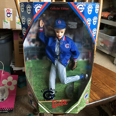 Barbie Doll Chicago Cubs MLB Collector Edition 1999