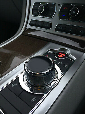 Jaguar XF XE XJ Rotary Gear Selector Topper (black). Can't post Until 23 Aug
