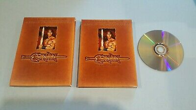 Conan: The Complete Quest (DVD, 2004, Duel Sided Disc)