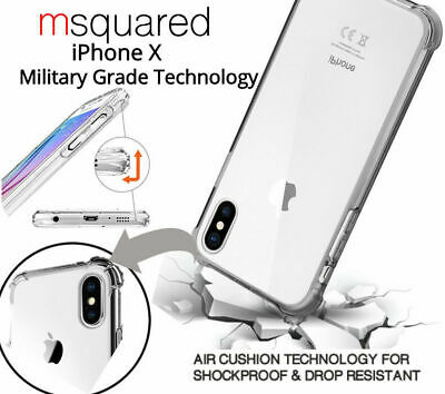 iPhone X Premium Shockproof Bumper Case MILITARY GRADED Design Cover For Apple
