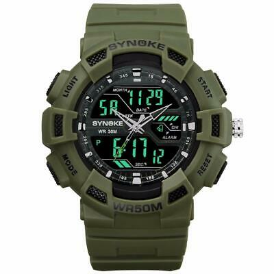 Men Camping Military Watch 2019 Waterproof Sports Watches Mens LED Digital Watch
