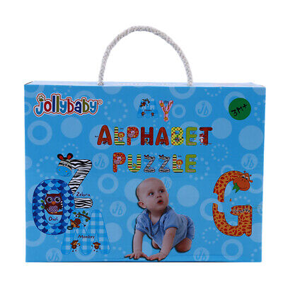 DIY Cartoon Paper Letters Baby Creative Alphabet Early Educational Toy FW