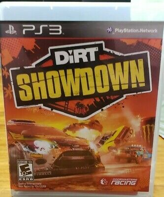 DiRT Showdown (Sony PlayStation 3, 2012) * FREE SHIPPING * COMPLETE