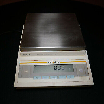 BP 3100 P Sartoruis Industrial Gram Weight Scale w Level ISO 9001 00128161 WORKS
