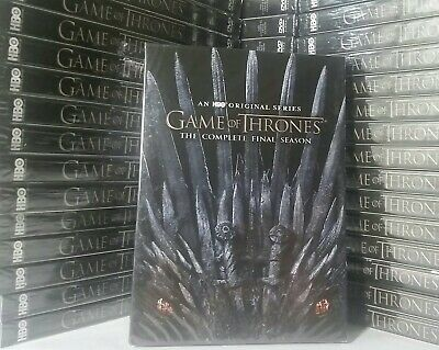 🎬Game Of Thrones COMPLETE EIGHTH, LAST SEASON -ALL 6 Ep. (DVD, 3-Disc set) NEW!