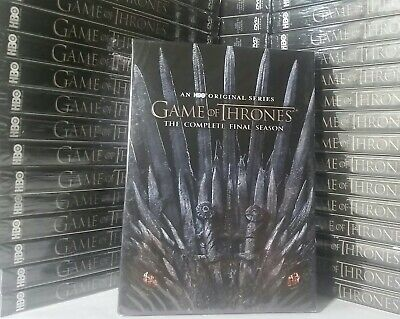 🎬Game Of Thrones: The Complete FINAL Season set (DVD, 3-Disc Set) BRAND NEW!