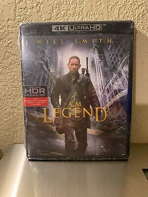 I Am Legend [New 4K ULTRAHD  Blu-ray