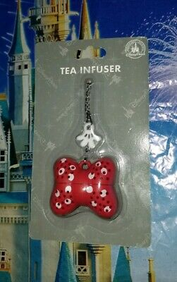 NEW IN BOX Disney Parks Minnie Mouse Bow Tea Infuser