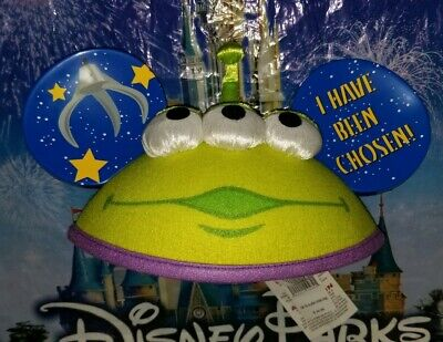 NEW Disney Parks Pixar Toy Story Little Green Men Alien Claw Mickey Ears Hat