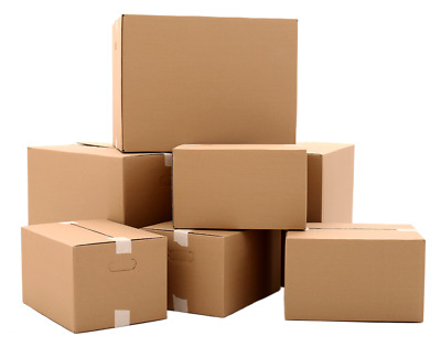 Single Wall Cardboard Moving Postage Boxes | 5 x 5 x 5 inches (127x127x127 mm)