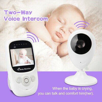 Audio Video Baby Monitor Wireless Camera Security Night Vision Kid Safety Viewer