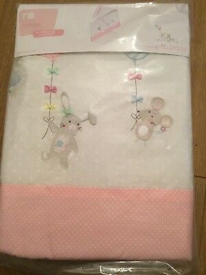 Mothercare Confetti Party Cot Bumper Also For A Cot Bed  *** Bnip ***
