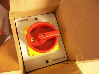 4 pole Isolator safety switch IP65 Rated Lockable Brand New