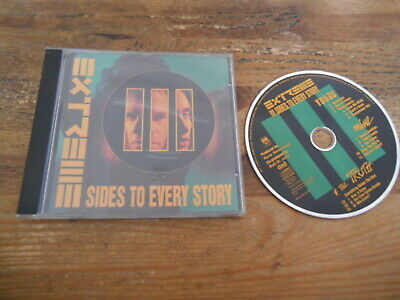 CD Metal Extreme - III Sides To Every Story (14 Song) A&M RECORDS jc / FRANCE