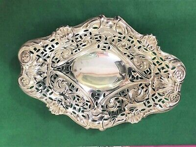 Sterling Silver Dish - William Thorneywork - Birmingham - 1899