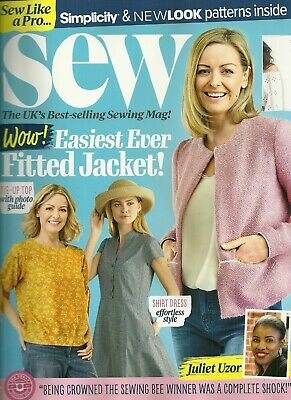 Sew ~Magazine + 2 free patterns issue 124