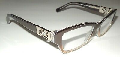 c6d03c6fe0ea Tory Burch Ty2039 1010 Brown Fade To Amber Eyeglass Frames 135 51 -16 Case
