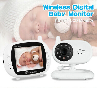 Wireless Baby Monitor with Camera and Audio Night Vision Temperature Monitor Kid