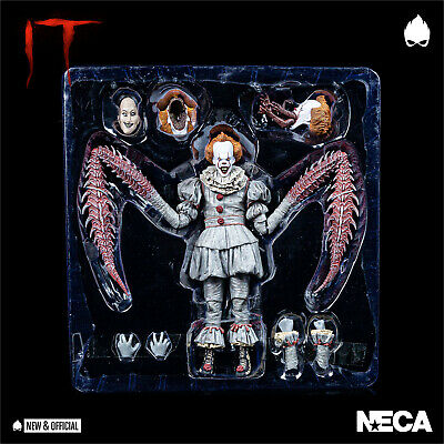 """NECA - IT Pennywise Dancing Clown 7"""" Action Figure [IN STOCK] • NEW & OFFICIAL •"""