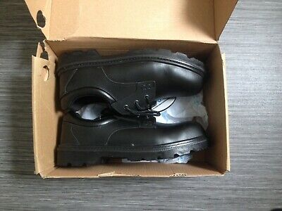 Oxford Safety Shoe Steel Toecap Work Shoes Size UK 8