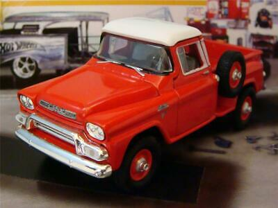 Classic 1959 59 GMC Step-side 4X4 Pick-up 1/64 Scale Limited Edition P