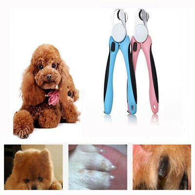 DELE Dog Cat Safety Nail Clippers Pet Grooming Scissors Cutters Paw Claw Trimmer