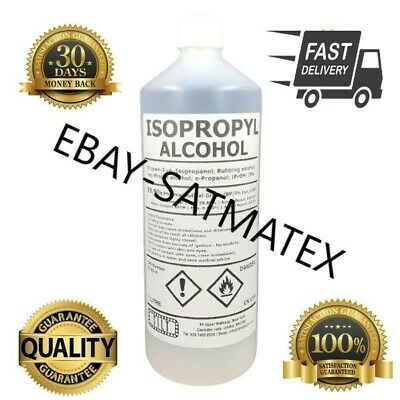 Rubbing Alcohol/Isopropyl/ IPA 99.9% |1L,5L LAB/PHARMA | Isopropanol IRELAND