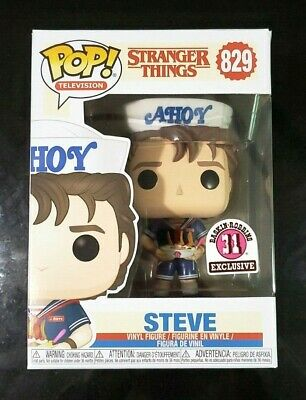 Stranger Things STEVE Scoops Ahoy Baskin Robbins #829 Funko POP! FREE SHIP