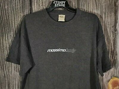 b0968197 VINTAGE 90's MOSSIMO BODY LIMITED EDITION GRAPHIC LOGO SPELL OUT SKATE T SHIRT  L