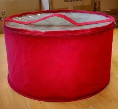 Large hat box Red