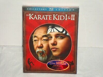 The Karate Kid I & Part II Collector's Edition 2 Blu-ray Disc 2010 Box Set