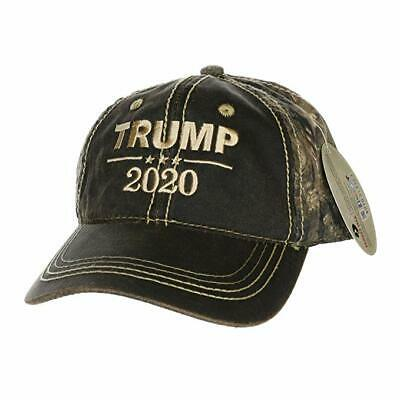 Donald Trump 2020 hat Mossy oak Authentic Patriotic trump Hat American Election