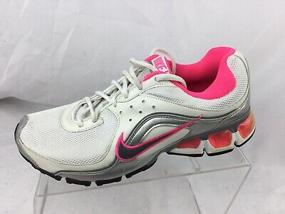 wholesale dealer 1e4f3 06b22 Nike Air Max Refresh 4 Womens Running Shoes White  Pink 366373-102 Size 8.5