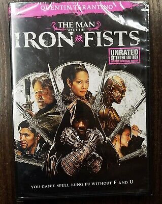 The Man With the Iron Fists (DVD, 2013, Unrated Extended Edition)