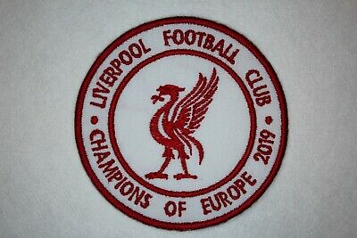 LIVERPOOL - LFC - CHAMPIONS OF EUROPE 2019 CHAMPIONS LEAGUE Iron on/sew on patch