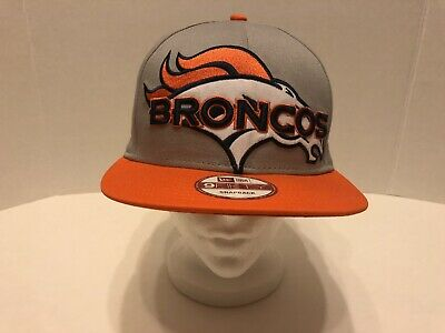 the latest d3503 163a7 NFL Denver Broncos 9Fifty Snapback Hat Cap New Era