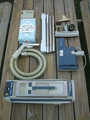 Working Electrolux Ultralux Classic Canister Vacuum With Attachments And Bags