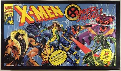 Pressman Boardgame X-Men Under Siege! Box Fair