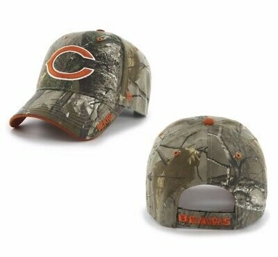 the best attitude 148ce 47582 Chicago Bears 47 Brand Clean Up Hat Adjustable Cap RealTree Frost