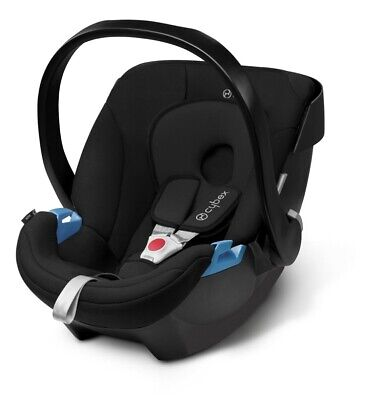 Cybex Aton Car Seat black isofix compatible Comes With Car seat Adapters