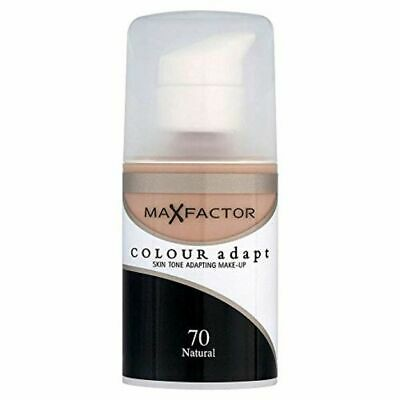 Max Factor Colour Adapt Foundation, Oil Free, 7 Natural