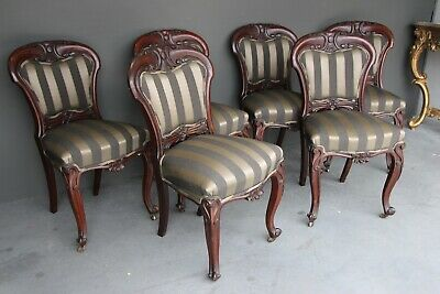 English early Victorian mahogany dining chairs antique mahogany superb carved